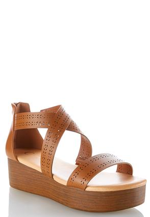 Laser Cut Flatform Wedges at Cato in Brooklyn, NY | Tuggl