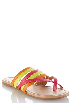 Toe Loop Multi Band Sandals at Cato in Brooklyn, NY | Tuggl