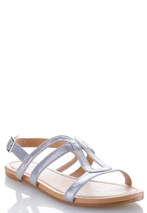 Metallic Slingback Sandals at Cato in Brooklyn, NY | Tuggl