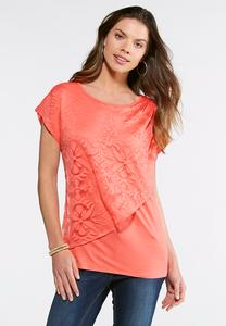Burnout Layered Top