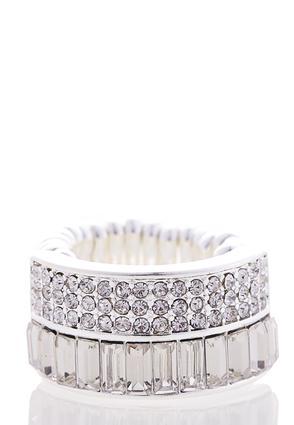Glitz Multi-Stone Ring | Tuggl