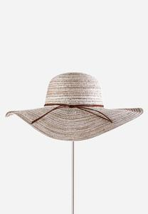 Striped Sequin Floppy Hat