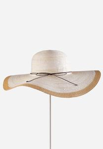 Tonal Stripe Floppy Hat