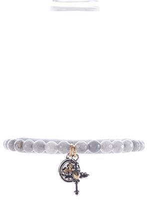 Be Still Beaded Stretch Bracelet | Tuggl