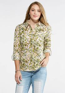 Floral Garden Button Down Shirt
