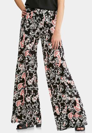 Petite Elegant Bloom Palazzo Pants at Cato in Brooklyn, NY | Tuggl