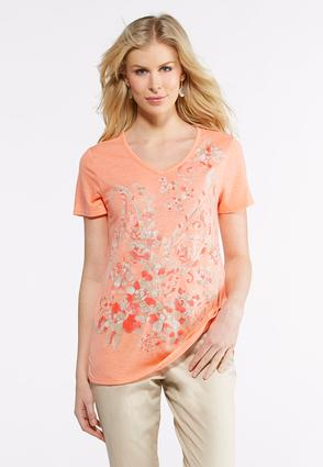 Foiled Floral Tee