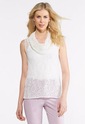 Delicate Cowl Neck Sweater   Tuggl