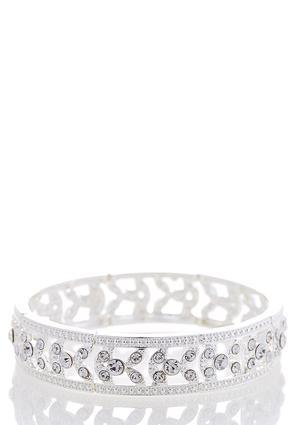Rhinestone Stretch Bracelet | Tuggl