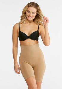 Nude Seamless High Waist Shorts