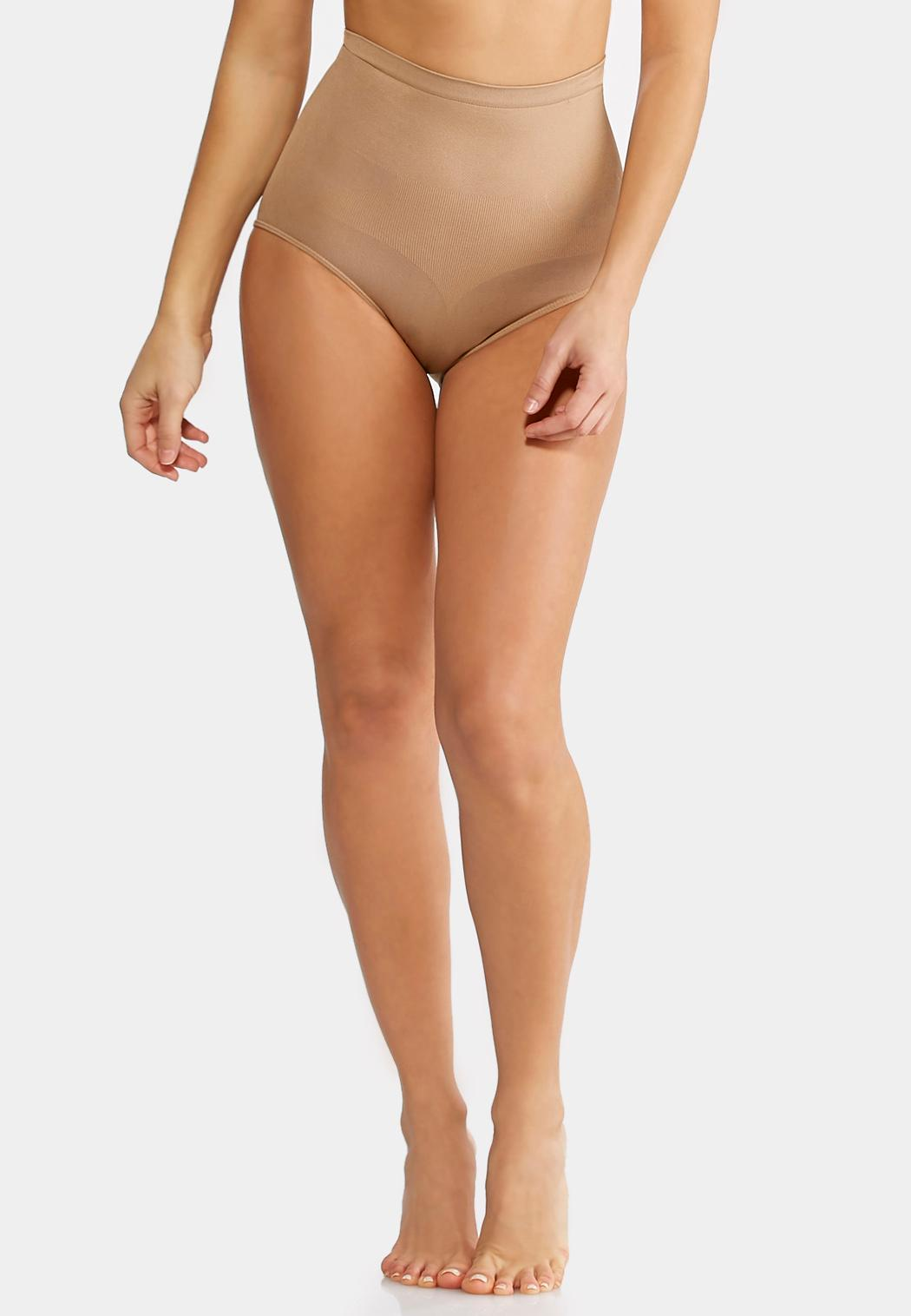Nude Seamless Control Panties