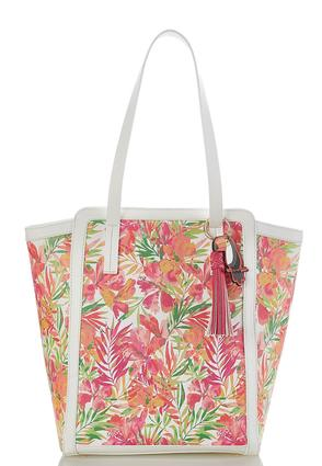 Floral Palm Large Tote at Cato in Brooklyn, NY | Tuggl