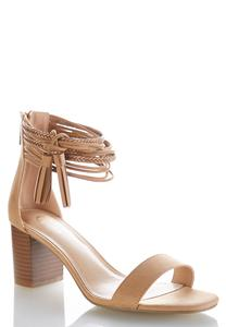 Multi Strap Heeled Sandals