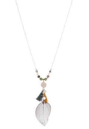 Dye Leaf Necklace | Tuggl
