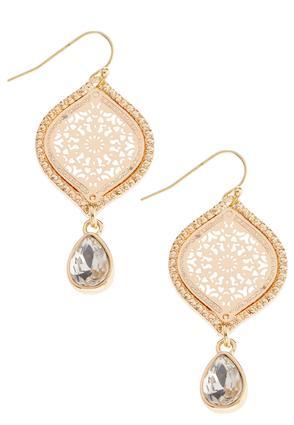 Paisley Filigree Earrings | Tuggl