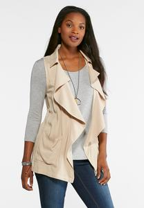 Waterfall Drape Vest