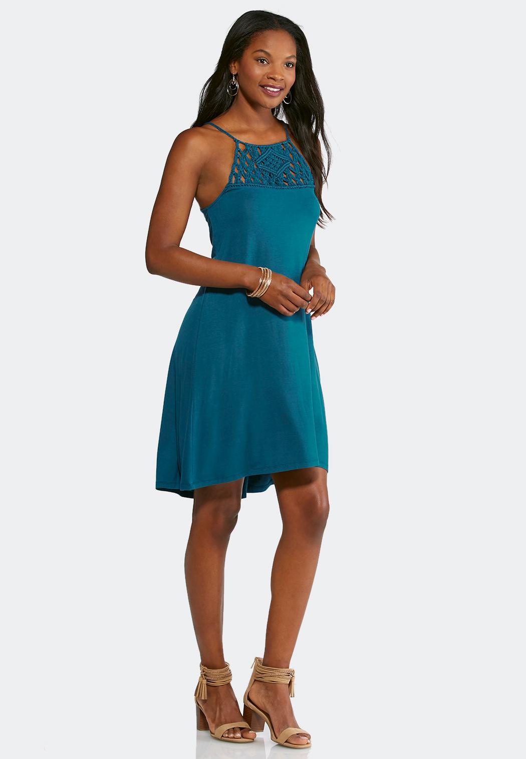 Plus Size Crochet Swing Dress Plus Sizes Cato Fashions