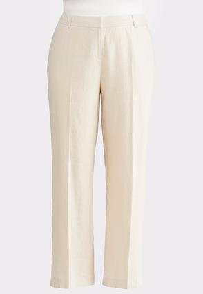 Linen Trouser Pants- Plus