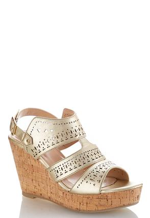 Laser Cutout Wedges | Tuggl
