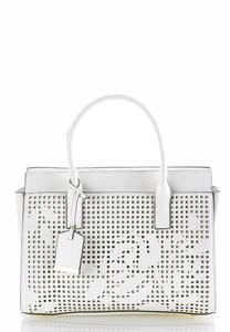 Laser Cut Structured Satchel