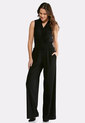 Smocked Ruffle Jumpsuit at Cato in Brooklyn, NY | Tuggl