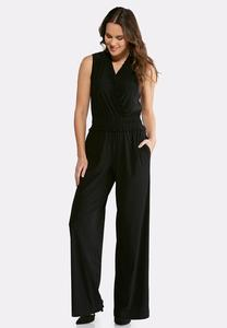Smocked Ruffle Jumpsuit