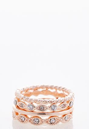 Mixed Rose Gold Ring Set at Cato in Brooklyn, NY | Tuggl