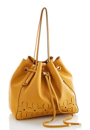 Laser Cut Bucket Bag | Tuggl