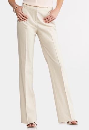 Linen Trouser Pants-Petite at Cato in Brooklyn, NY | Tuggl