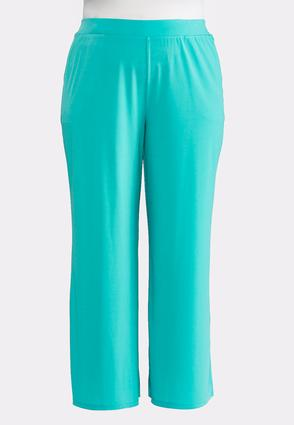 Plus Petite Solid Split Leg Palazzo Pants at Cato in Brooklyn, NY | Tuggl