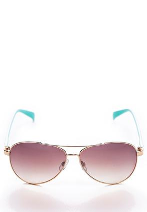 Floral Arm Aviator Sunglasses | Tuggl