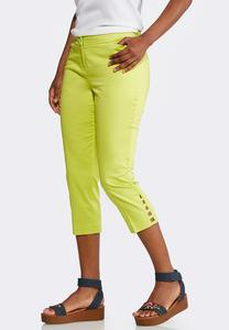 Shape Enhancing Tailored Crop Pants