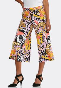 Cropped Rio Wide Leg Pants