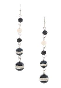 Beaded Linear Earrings