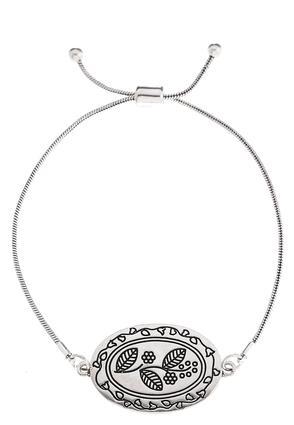 Etched Nature Pull-String Bracelet | Tuggl