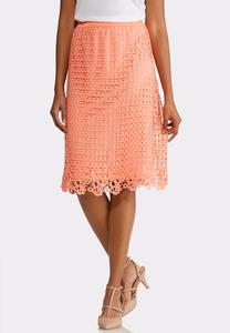 Melon Crochet Skirt