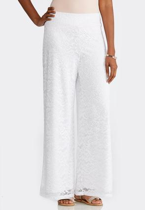 Petite Lace Palazzo Pants at Cato in Brooklyn, NY | Tuggl