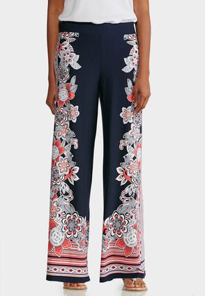 Petite Side Bloom Palazzo Pants at Cato in Brooklyn, NY | Tuggl