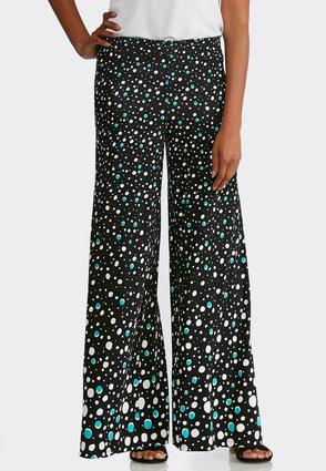 Petite Dotted Palazzo Pants at Cato in Brooklyn, NY | Tuggl