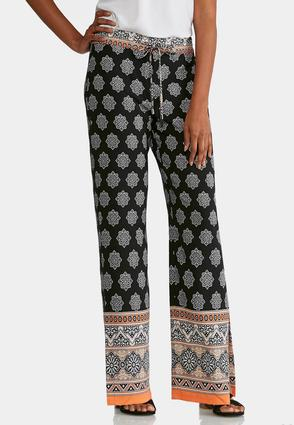 Moroccan Border Palazzo Pants at Cato in Cookeville, TN | Tuggl