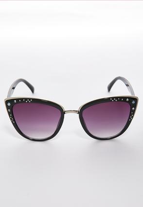 Bedazzled Cateye Sunglasses | Tuggl