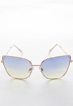 Sunset Tint Square Sunglasses | Tuggl