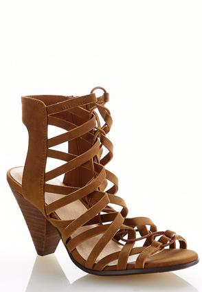 Stretch Strap Cutout Shooties