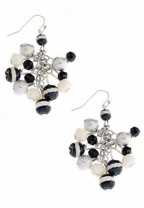 Mixed Bead Rondelle Earrings | Tuggl