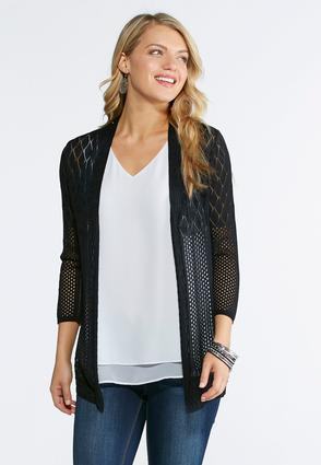 Multi Stitch Cardigan Sweater   Tuggl