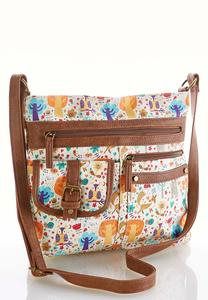 Woodland Print Crossbody