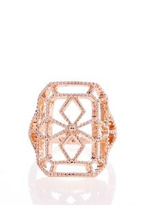 Cutout Square Ring