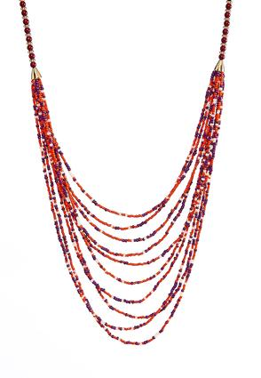 Seed Bead Layered Necklace | Tuggl