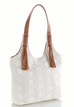 Crochet Hobo Handbag | Tuggl
