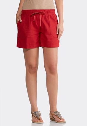 Drawstring Linen Shorts | Tuggl